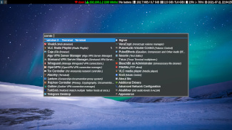 MOFO Linux 8, with i3 window manager and Rofi, with lots of VPNs and Proxies.
